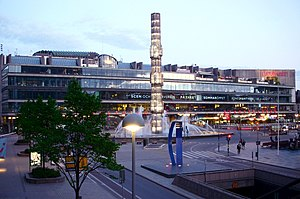 Riksdag - Kulturhuset at Sergels torg served as a temporary seat for the Riksdag, from 1971 to 1983, while the Riksdag building on Helgeandsholmen underwent renovation.