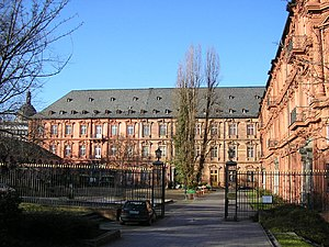 Electorate of Mainz - Image: Kurfuerstliches Schloss Mainz Innenhof