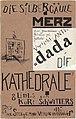Kurt Schwitters - Die Kathedrale. Mit 8 Orig.-Lithographien, 1920.jpg