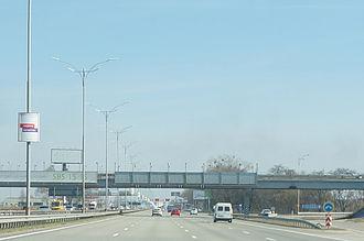 Highway M03 (Ukraine) - M03 motorway between Kyiv and Boryspil