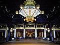 Kyoto Nishi Hongan-ji Amidahalle Innen 2.jpg