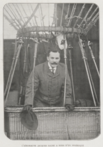 L'aéronaute Jacques Faure à bord d'un sphérique (Le Sport universel illustré, 1910).png