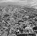 Légifotó, előtérben a belváros. Fortepan 76712.jpg