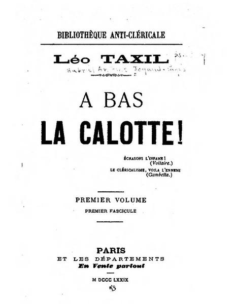 File:Léo Taxil - À bas la calotte.pdf