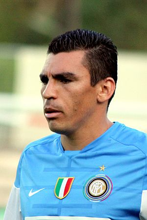 Lúcio - Lúcio playing for Inter in 2009