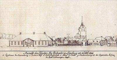 Lüneburg Kloster St Michaelis 1795.jpg