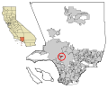 LA County Incorporated Areas West Hollywood highlighted.svg