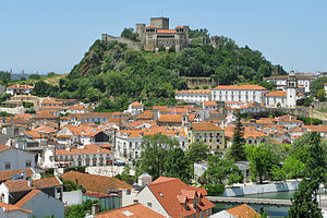 Leiria - Leiria and its Castle.