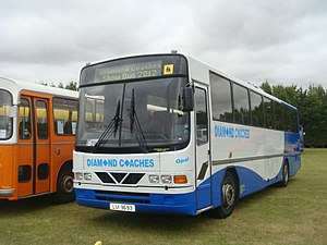 Wright Endeavour - Wright Endeavour bodied Leyland Tiger in September 2012