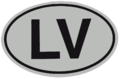 LV international vehicle registration oval.png