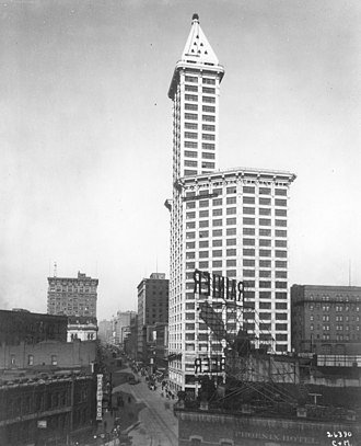 Smith Tower - Smith Tower, 1914