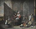 La Fileuse, le Maître des béguins, flamand milieu XVII copie.jpg