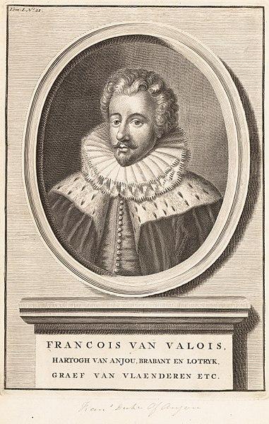 File:La Joyeuse & magnifique Entrée de Monseigneur François, Fils de France, et Frere Unique du Roy,..., Duc de Brabant, ... en sa tres-renommé ville d' Anvers MET DP153096.jpg