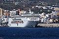 La Palma - Santa Cruz - Port of Santa Cruz de La Palma + MSC Armonia (Avenida Bajamar) 03 ies.jpg