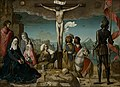 La crucifixión, by Juan de Flandes, from Prado in Google Earth.jpg
