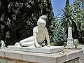La jeune grecque lit le nom de Botzaris (sculpture de David d'Angers) (4609422282).jpg