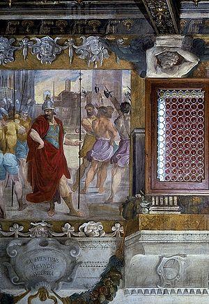 Romulus - Image: La superbia di Romolo