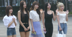Laboum arriving at Music Bank in July 27, 2018.png