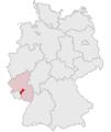 Lage des Landkreises Kusel in Deutschland.png