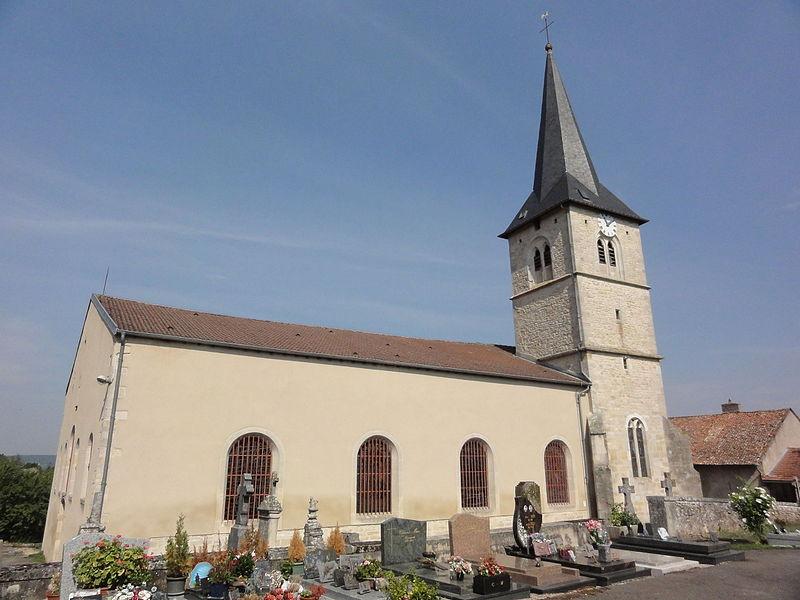 Lagney (Meurthe-et-M.) église