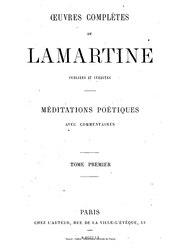 Œuvres complètes de Lamartine