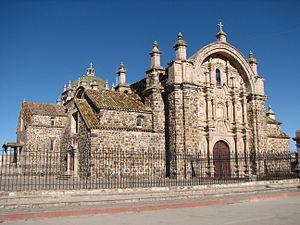 Lampa Province - Inmaculada Concepción church in Lampa