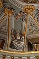 Lamporecchio, villa rospigliosi, interno, salone di apollo, con affreschi attr. a ludovico gemignani, 1680-90 ca., segni zodiacali, acquario 01.jpg