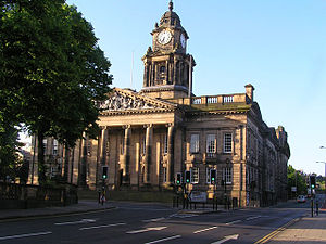 Edward William Mountford - Lancaster Town Hall