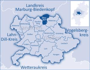 Allendorf, Giessen - Image: Landkreis Gießen Allendorf