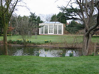 Langtons - Repton's gardens and the fully glazed orangery
