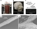 Large-scale production and fiber extrusion of MaSp1-(6-mer) artificial spidroin.webp