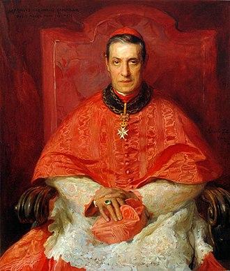 Mariano Rampolla - Portrait by Philip de László, 1900