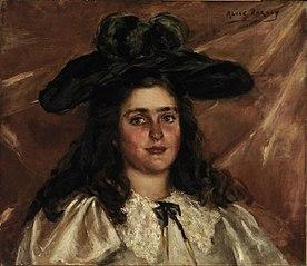 Laura Alice in Big Hat