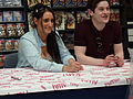Lauren Socha and Iwan Rheon 01.jpg