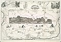 Leavitts map with views of the White Mountains, New Hampshire, 1871 (7537851356).jpg