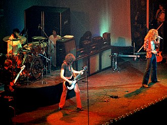 Physical Graffiti - Led Zeppelin touring the US shortly before the release of Physical Graffiti