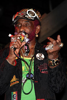 "Lee ""Scratch"" Perry dal vivo a Firenze, marzo 2009"
