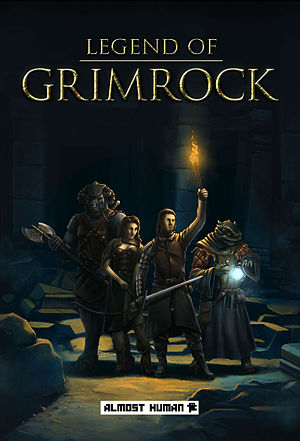 Legend of Grimrock - Image: Legend of Grimrock DVD cover