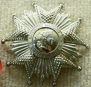 Legion Honneur CKS plaque p1090335