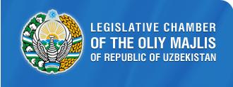 Supreme Assembly (Uzbekistan) - Image: Legislative Chamber of Uzbekistan Logo