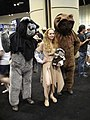 Leia and the biggest Ewoks youll ever see (4940422281).jpg
