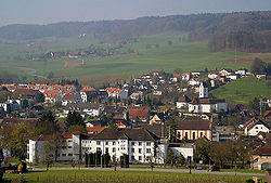 Skyline of Lengnau