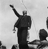 Vladimir Lenin was a leader in the Bolshevik Revolution of 1917.
