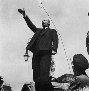 Revolution - Vladimir Lenin, leader of the Bolshevik Revolution of 1917.