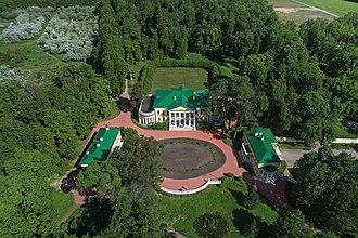 Gorki Leninskiye - Aerial photo of the estate in Gorki Leninskiye