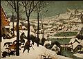 Les chasseurs dans la neige Pieter Brueghel l'Ancien.jpg