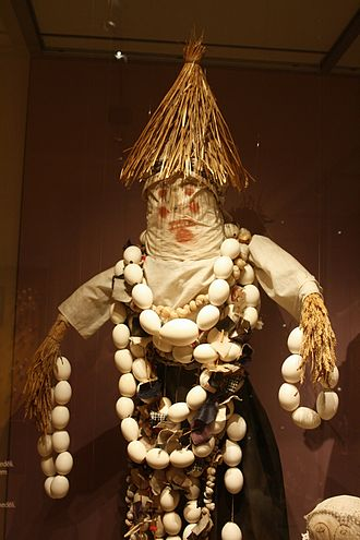 Marzanna - Effigy of Morana (Death Goddess). Czech Republic.