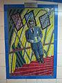 Leytonstone tube station - Hitchcock Gallery- Suspicion (1941) (geograph 4081883).jpg