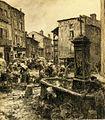 Lhermitte - Fontaine à Châtelguyon, 1906.jpg