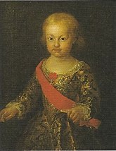"Infante Philip, Duke of Calabria Infante Felipe Antonio, ""Duke of Calabria"" Infante of Spain (Francesco Liani).jpg"